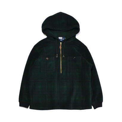 Ralph Lauren / Half Zip Fleece Hoody(ラルフローレン / フリース)mj-0013