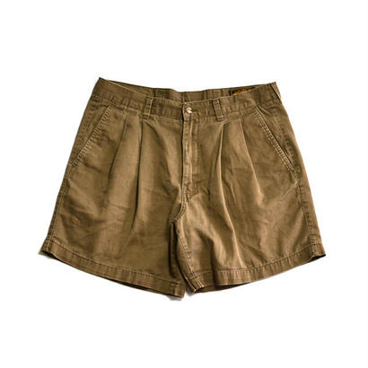 1990s Eddie Bauer / Cotton 2Tuck Shorts(エディーバウアー / ショーツ)ms-0005