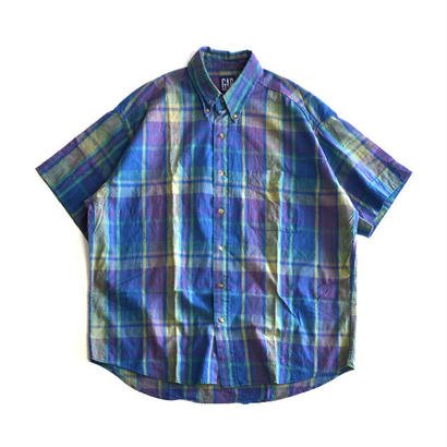 1990s GAP / Short Sleeve B/D Shirts(ギャップ / S/Sシャツ)ms-0009