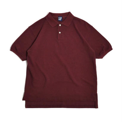 1990s GAP / S/S Polo Shirts(ギャップ / ポロシャツ)ms-0015