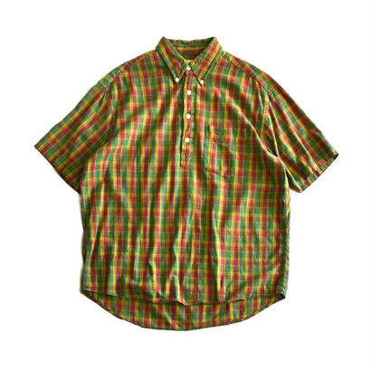 1990s GAP / Short Sleeve B/D Shirts(ギャップ / S/Sシャツ)ms-0008
