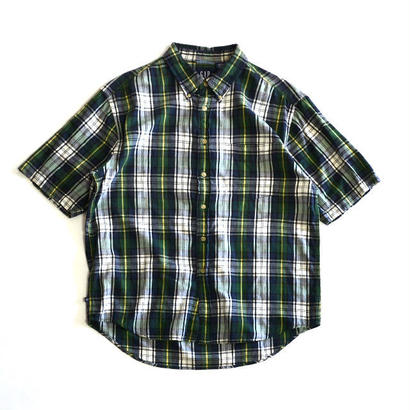 1990s GAP / Short Sleeve B/D Shirts(ギャップ / S/Sシャツ)ms-0010