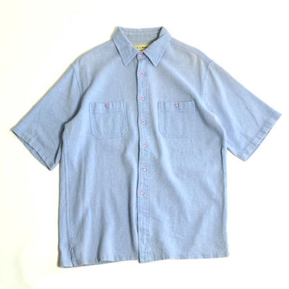 "1990s L.L.Bean / ""Cool Wave"" Shorts Sleeve Shirts(エルエルビーン / S/Sシャツ)ms-0012"