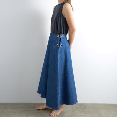WESTOVERALLS / Denim ring skirt