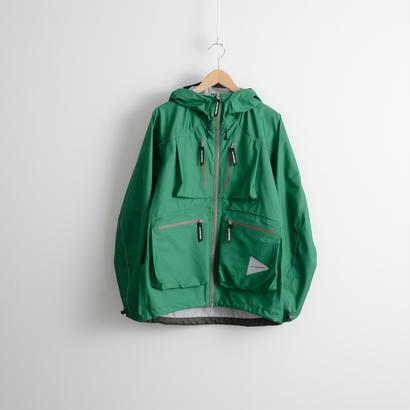 and wander / Dropping pocket rain jacket