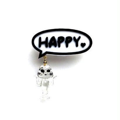 HAPPY♥+火星人ブローチ / CL