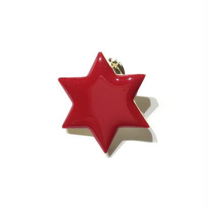 六角星のピン / M
