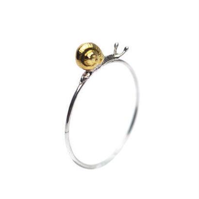 小さいカタツムリのリング / シルバー