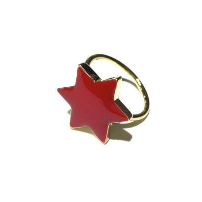 六角星のリング / S