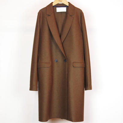 HARRIS WHARF LONDON / WOMAN DOUBLE BRESTED COAT PRESSED WOOL