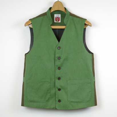 TIB_43 FRANK LEDER Triple Washed Cotton Vest