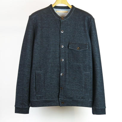 FRANK LEDER / GERMAN ORGANIC COTTON JERSEY CARDIGAN