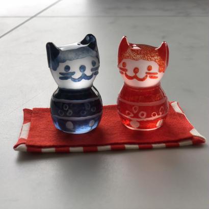 猫のおひなさま(小紋)