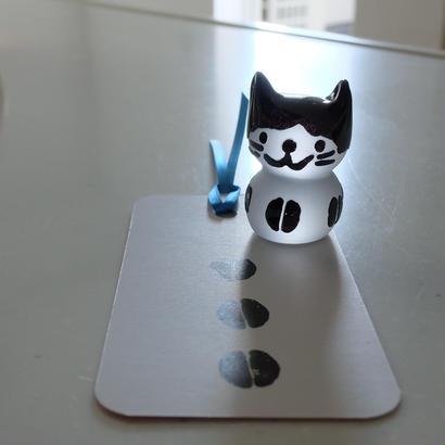 猫ハンコ(コーヒー豆猫の黒ちゃん2)