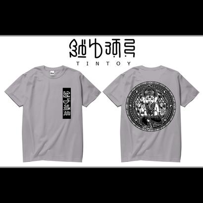 S/S TEE -「GANESHA-2」-GRAY