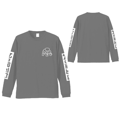 L/S TEE 「YOU」-GRAY