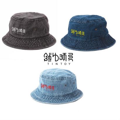 バケットハット「錻力玩具ロゴ」【カラーバリエーション多数あり】