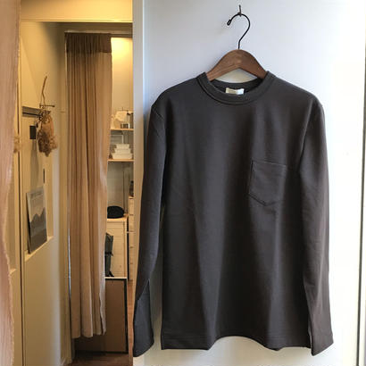 niuhans / Smooth Cotton L/S Sweat Tee   (Unisex)