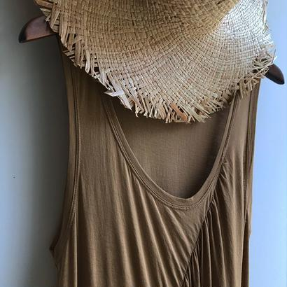 DEMYLEE / front gather dress /  used clothing