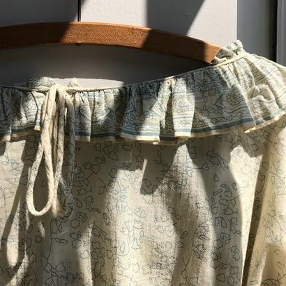 mes demoiselles / flower print tops /  used clothing