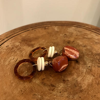 little / gemstone earring