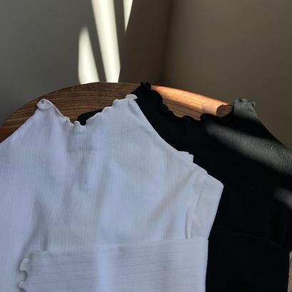ALLEGE / Wide rib L/S T-shirt (Femme)