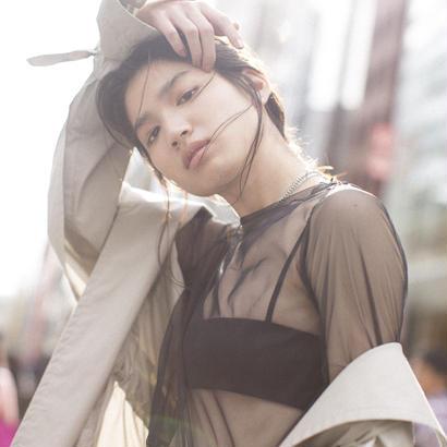ALLEGE / Tulle pullover L/S (Femme)