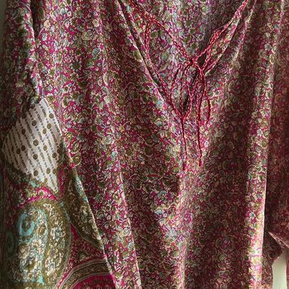 star mela / silk flower tops /  used clothing