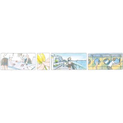 マスキングテープ ~「おかえり色彩」 今日マチ子『センネン画報 +10 years』発売記念原画展オリジナルグッズ~