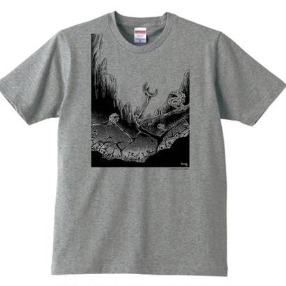 諸星大二郎グッズ Tシャツ(ヒルコ)