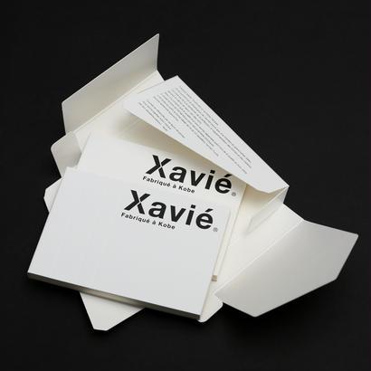 Xavie(グザヴィエ)ブロックノート A7ギフトボックス