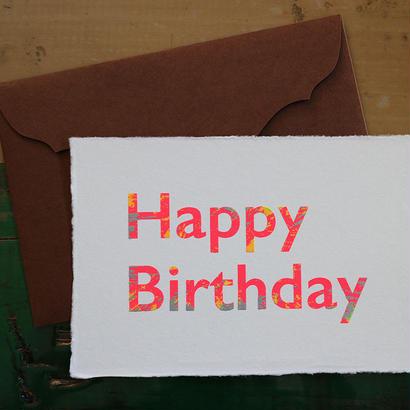 Birthday Card ネオン