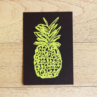 パイナップル カード【グレー】