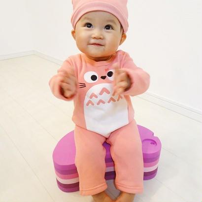 (即納♡)(kids☆)帽子付き♡トトロロンパース