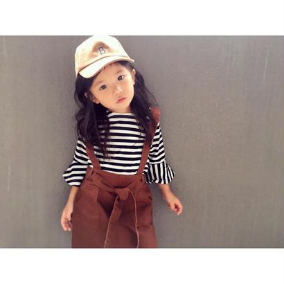 (即納♡)(kids☆)モノトーンボーダートップス