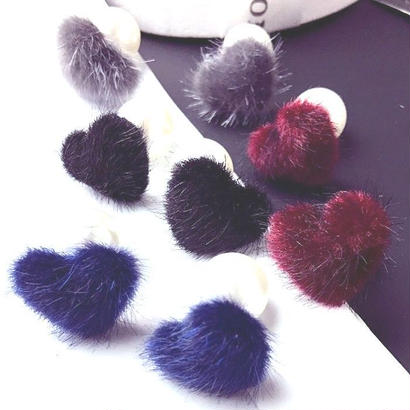 2way Heart♡ fur pierce