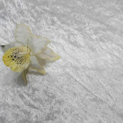 蘭の花のコサージュ・820K/D-due/Fサイズ