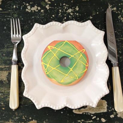 Donut pistachio Memo