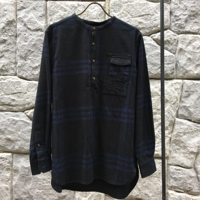 Groupie Unisex ブラックチェック/シャツ