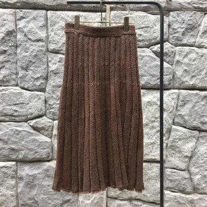 JUNMIKAMI/ミカミジュンプリーツニットスカート