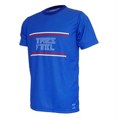 プラクティスシャツ(linea)ブルー/ホワイト/レッド