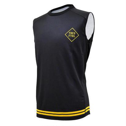 トレーニングシャツ(ノースリーブ)ブラック/イエロー