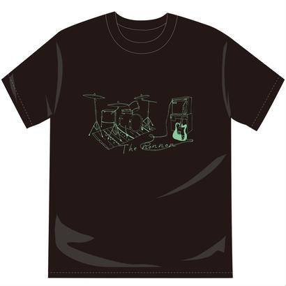2ピースTシャツ(ブラック)[オンライン限定SALE]