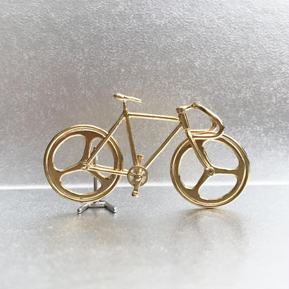 Bicycle pendant Drop handle - Gold
