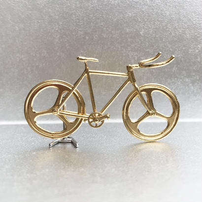Bicycle pendant Bull horn handle - Gold
