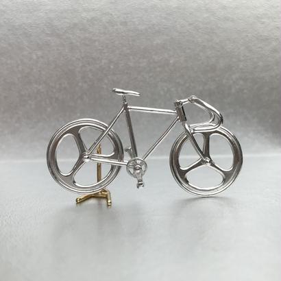 Bicycle pendant Drop handle - Silver