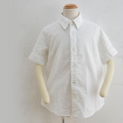 new sleeve shirts ホワイト(100,120cm)