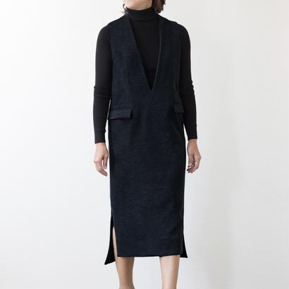 mama dress ジャンパースカート(ネイビー)※予約商品、10/末発送※