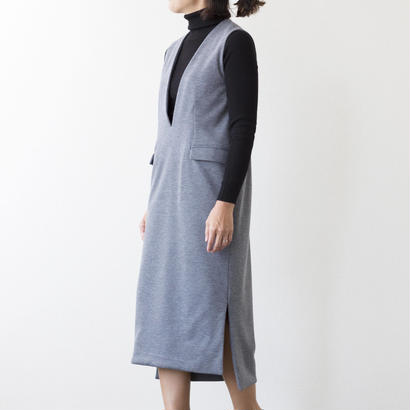 mama dress ジャンパースカート(グレー)※予約商品、10/末発送※