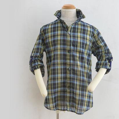 long sleeve shits チェック(100,120cm)
